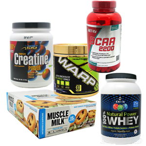 MyFormulary muscle building bundle of products