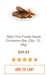 Apple Cinnemon Bar new
